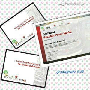 sertifikat dan modul SPM Reguler